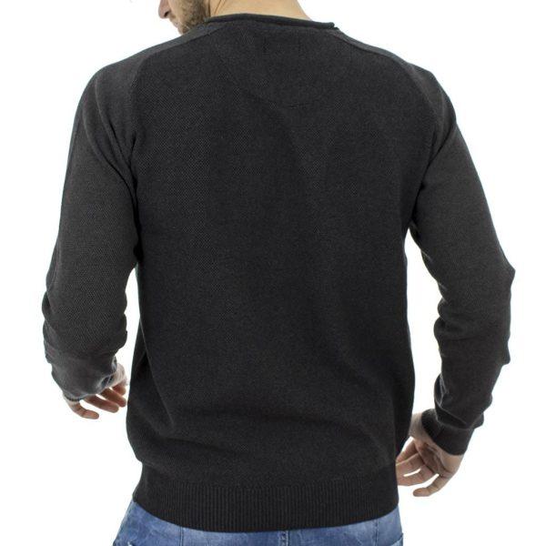 Μακρυμάνικη Μπλούζα Garage55 GAM212-09217 Μαύρο