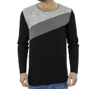 Μακρυμάνικη Μπλούζα #hashtag GUM W17096 Μαύρο