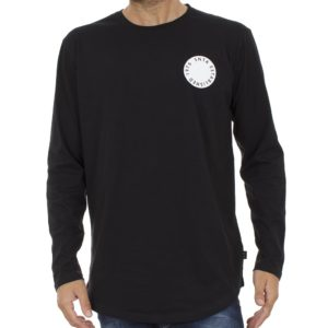 Μακρυμάνικη Μπλούζα SNTA SW18-1-8 Μαύρο
