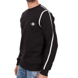 Μπλούζα Φούτερ PONTE ROSSO 18-1043 Lined Μαύρο