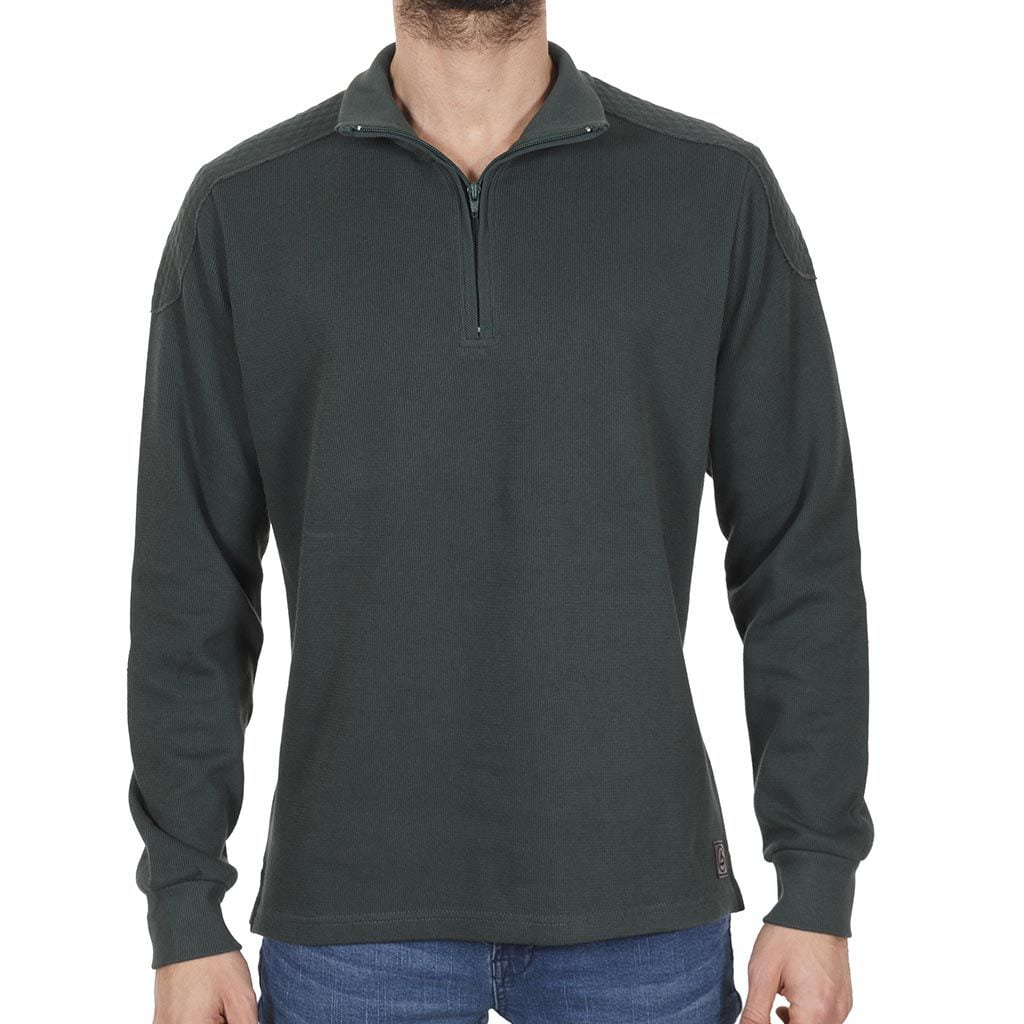 aa0e9b1262ed Μακρυμάνικη Μπλούζα με Γιακά MAO SANTANA SW16-4-49