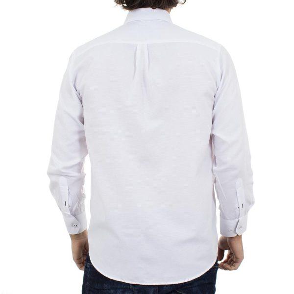 Μακρυμάνικο Πουκάμισο Regular Fit Canadian Shirts 2290-3 Λευκό