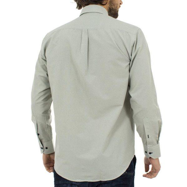 Μακρυμάνικο Πουκάμισο Regular Fit Canadian Shirts 2300-2 ανοικτό Πράσινο