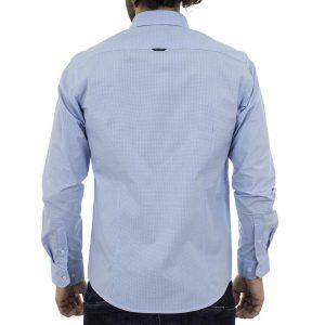 Μακρυμάνικο Πουκάμισο Slim Fit BENETO MARETTI SS17SH60-111B Γαλάζιο