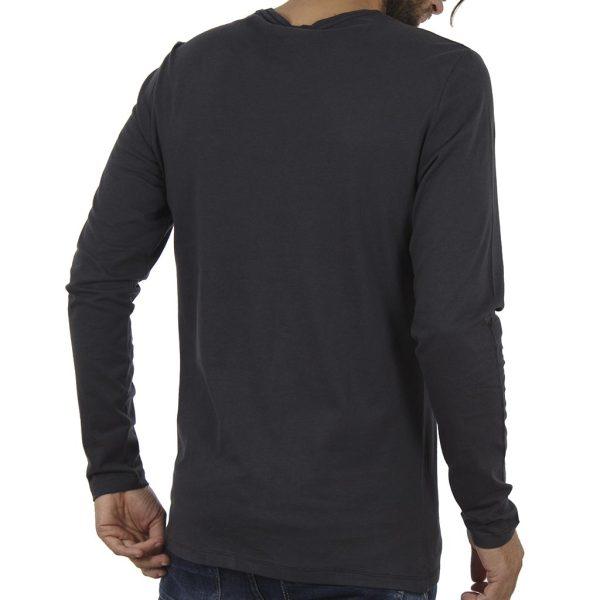 Μακρυμάνικη Μπλούζα Tee BLEND 20706187 Ανθρακί