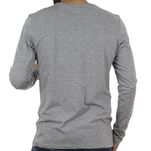Μακρυμάνικη Μπλούζα Tee BLEND 20706187 σκούρο Γκρι