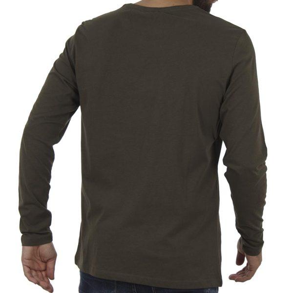 Μακρυμάνικη Μπλούζα Tee BLEND 20706187 Olive