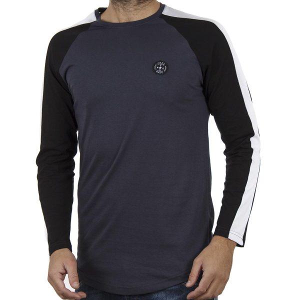 Μακρυμάνικη Μπλούζα FREE WAVE 82105 Indigo