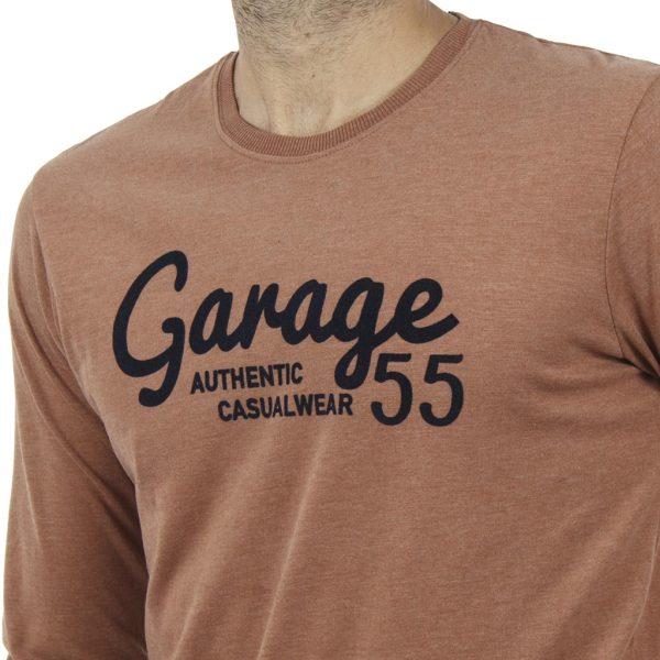 Μακρυμάνικη Μπλούζα Garage55 GAM211-07218 Mustard