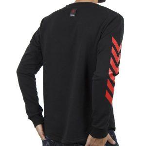 Μακρυμάνικη Μπλούζα MESH&CO Frontline 05-285 Μαύρο