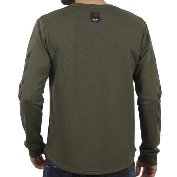 Μακρυμάνικη Μπλούζα MESH&CO Frontline 05-285 Χακί