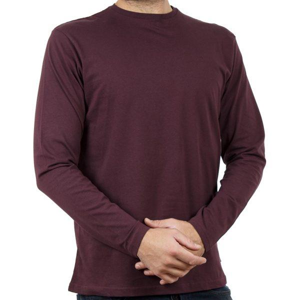 Μακρυμάνικη Μπλούζα DOUBLE TS-70 Wine Red
