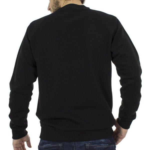 2adb5151e5c9 Μπλούζα Φούτερ SANTANA MARMEL SW17-3-36 Μαύρο