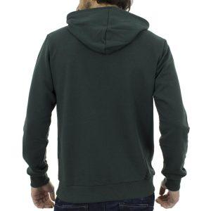 Μπλούζα Φούτερ με Κουκούλα Hoodie SANTANA SW17-3-47 Πράσινο
