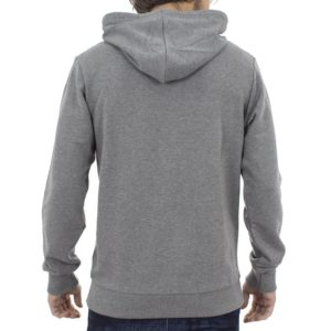 Μπλούζα Φούτερ με Κουκούλα Hoodie SANTANA SW17-3-47 Γκρι