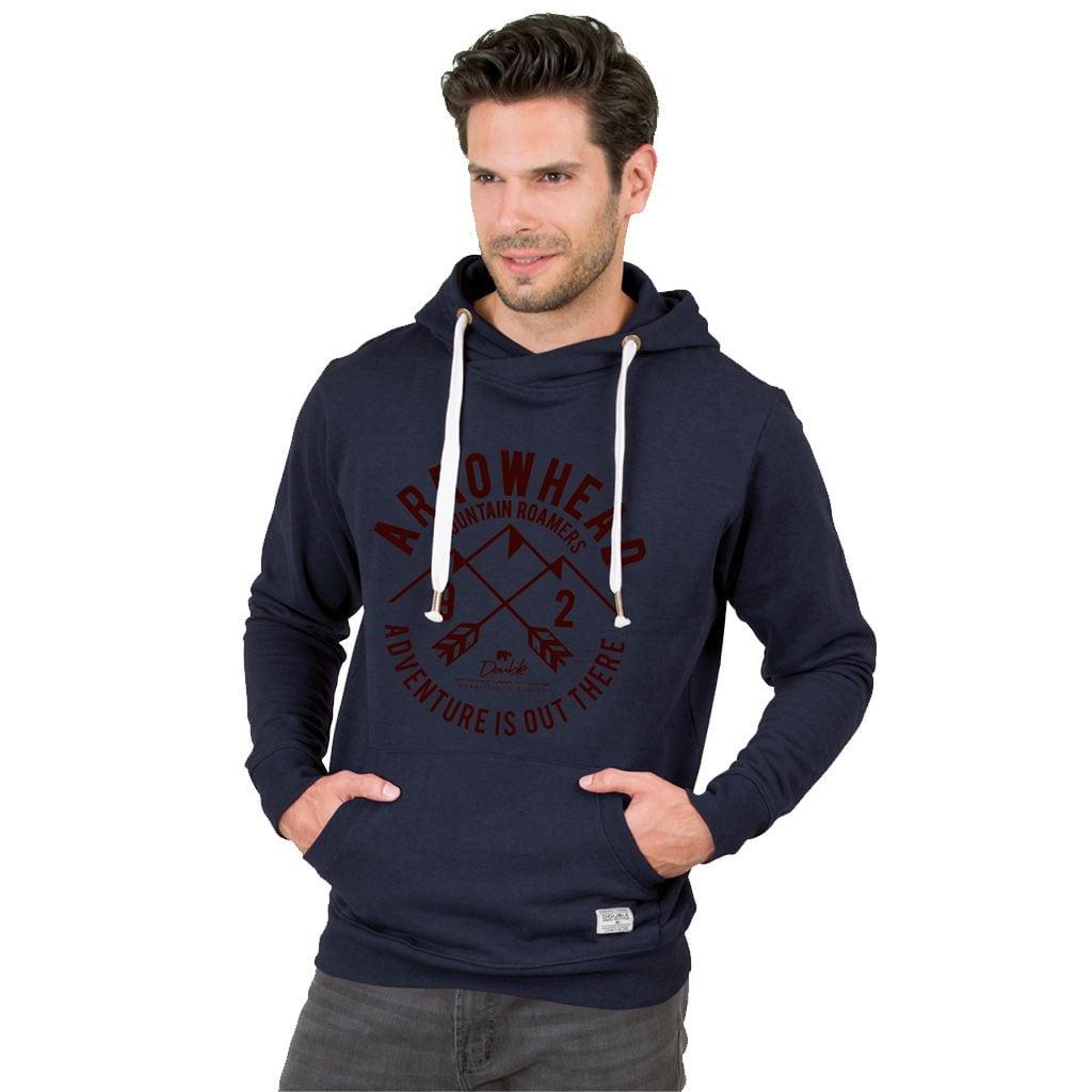 Μπλούζα με Κουκούλα Φούτερ-Hoodie DOUBLE MTOP-24