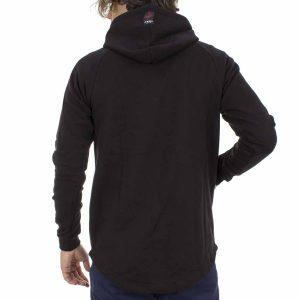 Μακρυμάνικη Μπλούζα με Κουκούλα Mesh&Co Karo Hoodies 05-254 Μαύρο