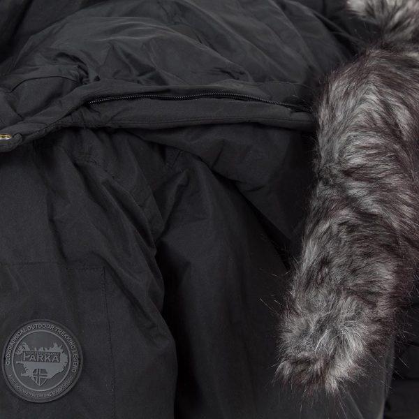 Μπουφάν Bomber Jacket CELIO Jufunny Noir Μαύρο