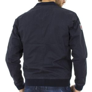 Φλάι Μπουφάν Flight Bomber Jacket DOUBLE MJK-112 Navy