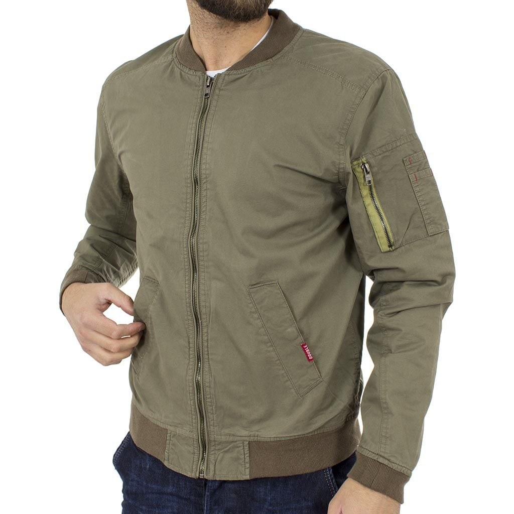 Φλάι Μπουφάν Flight Bomber Jacket DOUBLE MJK-112 Olive