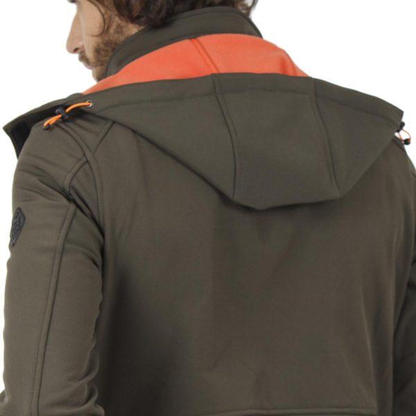 Μπουφάν Flight Bomber Jacket με Κουκούλα ICE TECH G603 Olive