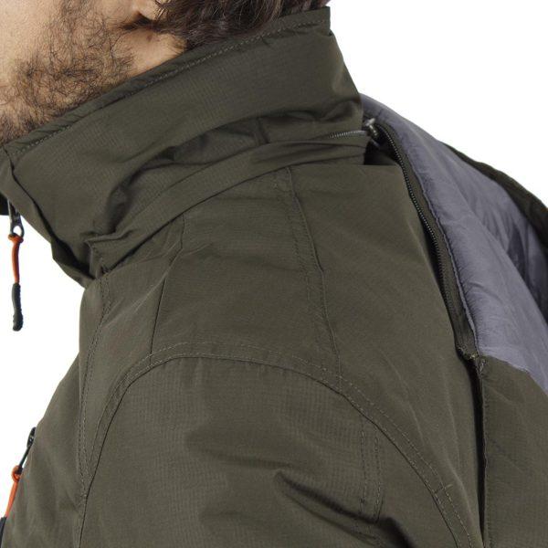 Μπουφάν Flight Bomber Jacket με Κουκούλα ICE TECH G621 Olive