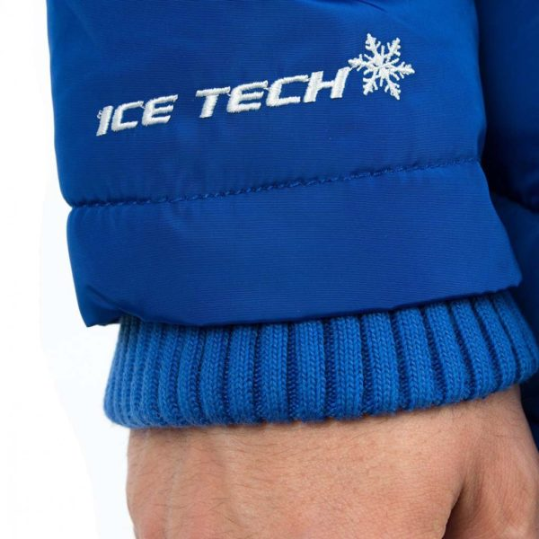 Μπουφάν Puffer Jacket ICE TECH A537 Electric Blue