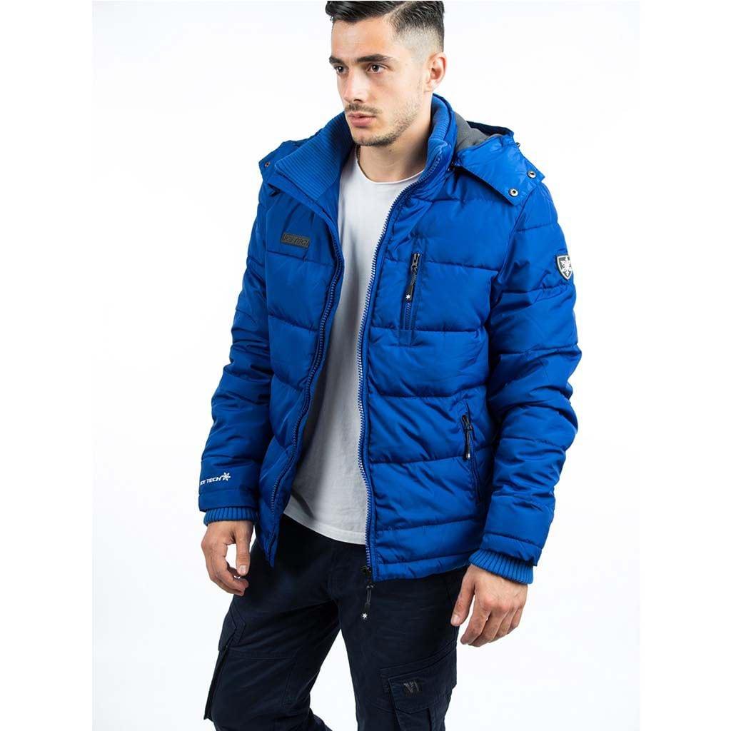 280ac7c0de7e Μπουφάν Puffer Jacket ICE TECH A537 Electric Blue