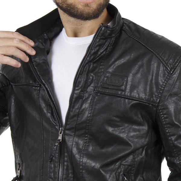 Μπουφάν Jacket BATTERY 15S500282 Μαύρο