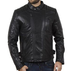 Μπουφάν Motorbike JKT ICE TECH Charlie-PU Μαύρο