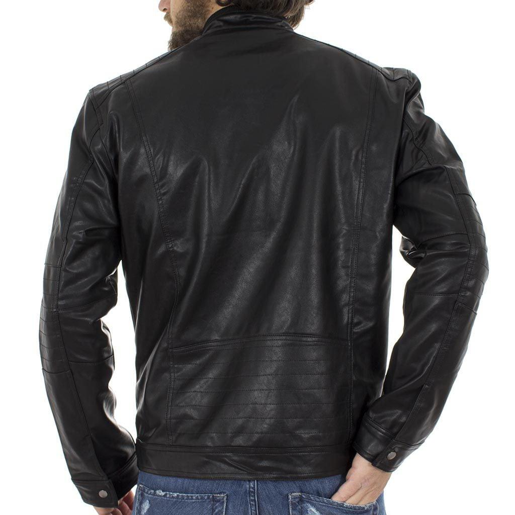 02986e13254 Ανοιξιάτικο Μπουφάν Τεχνόδερμα Jacket SPLENDID 39-201-004 Μαύρο ...