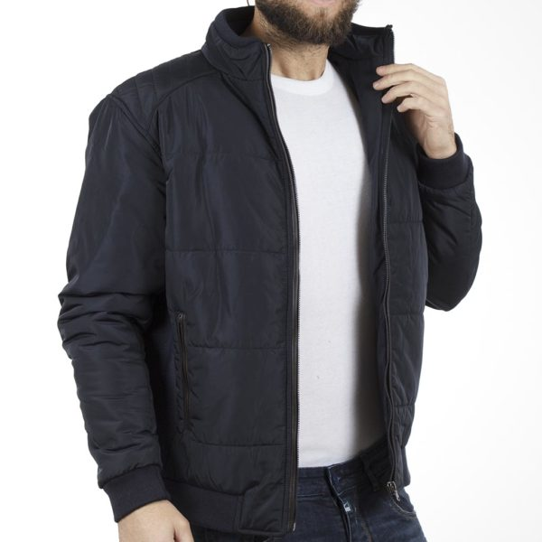 Μπουφάν Flight Bomber Jacket DOUBLE MJK-115 Navy