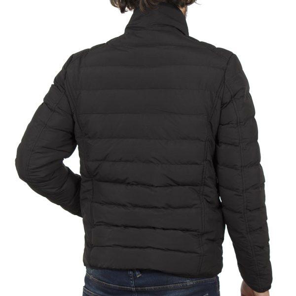 Φουσκωτό Μπουφάν Puffer Jacket ICE TECH G636 Μαύρο
