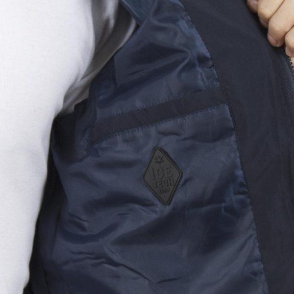 Φουσκωτό Μπουφάν Puffer Jacket ICE TECH G636 Navy
