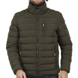 Φουσκωτό Μπουφάν Puffer Jacket ICE TECH G636 Olive
