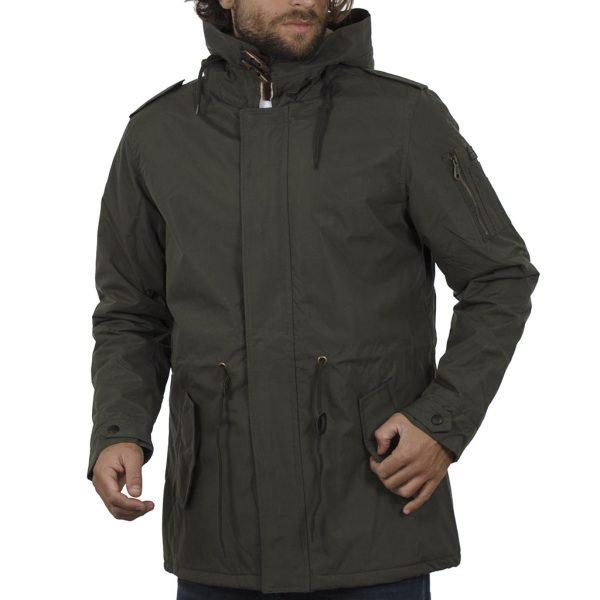 Μπουφάν Jacket με Κουκούλα BLEND OUTWEAR 20706814 Χακί