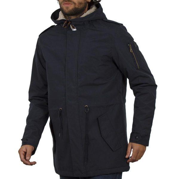 Μπουφάν Jacket με Κουκούλα BLEND OUTWEAR 20706814 Navy