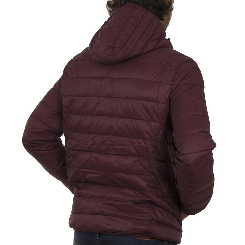 8d45cc85704 Φουσκωτό Μπουφάν Puffer Jacket με Κουκούλα BLEND 20706454 Μπορντώ ...