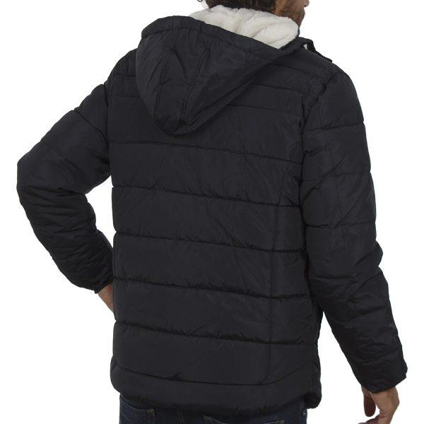 Φουσκωτό Μπουφάν Puffer Jacket με Κουκούλα BLEND 20707369 Navy