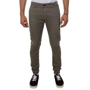 Παντελόνι Damaged jeans D32 Χακί