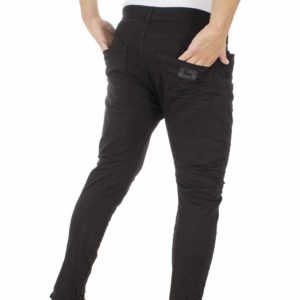 Chinos Παντελόνι Back2Jeans M65 Μαύρο