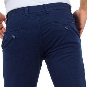 Chinos Παντελόνι DAMAGED Jeans D33 Μπλε