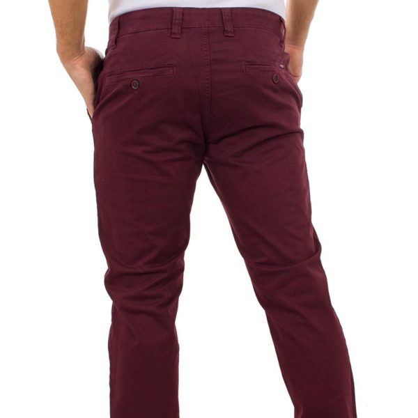 Chinos Παντελόνι DAMAGED Jeans D33 Cherry