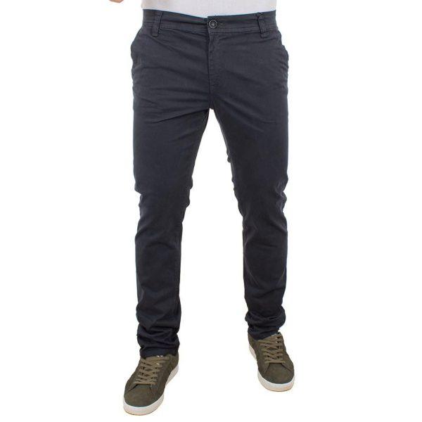 Chinos Παντελόνι DAMAGED Jeans D33 σκούρο Γκρι
