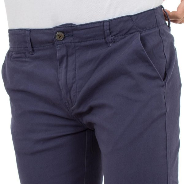 Παντελόνι Chinos Pants DOUBLE CP-217 Indigo