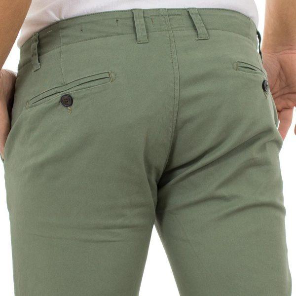 Παντελόνι Chinos Pants DOUBLE CP-217 Olive