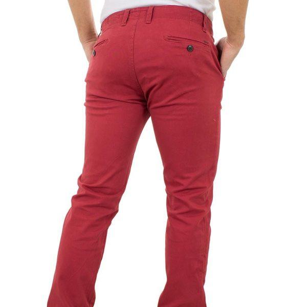 Παντελόνι Chinos Pants DOUBLE CP-217 Κόκκινο