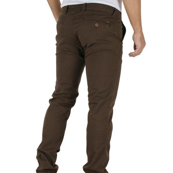 Παντελόνι Chinos DOUBLE CP-218 Καφέ