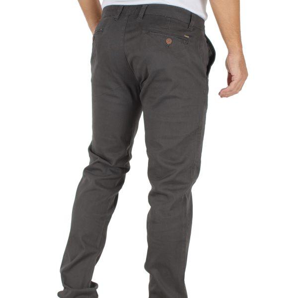 Παντελόνι Chinos DOUBLE CP-218 σκούρο Γκρι