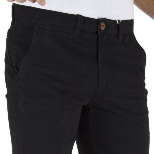 Παντελόνι Chinos DOUBLE CP-218 Μαύρο